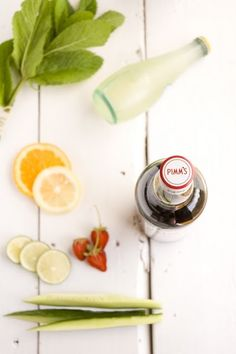 prepitude: The Pimms Cup, created in consists of Pimms No. combined with lemonade, 7 Up, and a cucumber garnish. Sparkling Drinks, Cocktail Drinks, Fun Drinks, Cocktails, Beverages, Yummy Treats, Delicious Desserts, Yummy Food, Pimms O Clock