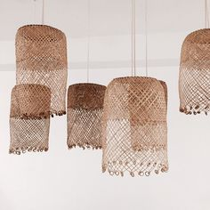 Borneo basket lights from Hope & May . Obsessed with this light! Borneo basket lights from Hope & May . Obsessed with this light! Wicker Couch, Wicker Trunk, Wicker Headboard, Wicker Shelf, Wicker Bedroom, Wicker Furniture, Wicker Man, Wicker Planter, Wicker Dresser