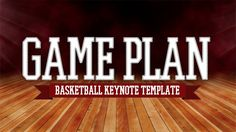 GamePlan Basketball Keynote Template DEMO - YouTube