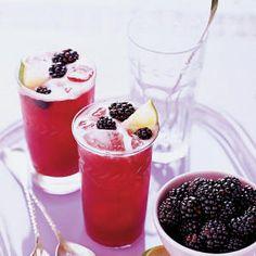 Cool Summer Drinks   Blackberry Limeade   CookingLight.com