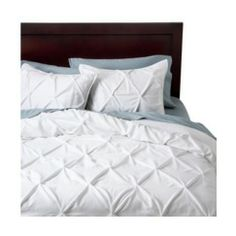70 Threshold™ Pinched Pleat Duvet Cover Set - Target