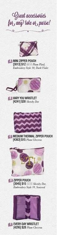 Accessories that coordinate and complement perfectly! #ClippedOnIssuu from Thirty One Gifts - Fall Catalog 2014
