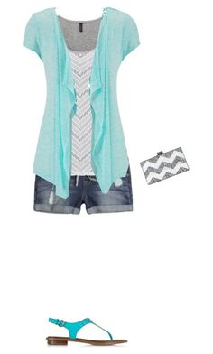 """""""Untitled #122"""" by hjpnosser ❤ liked on Polyvore featuring maurices, Michael Kors and Edie Parker"""