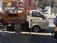 Sarıyer çöp taksi. Maksat sevimlilik olsun. #latergram