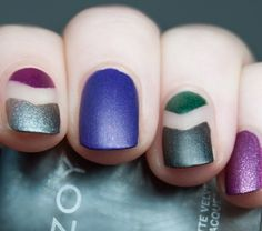 Negative Space | Manicure Negativa é Tendência nas Unhas - Oh, Lollas