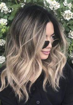 Blonde Hair With Highlights, Balayage Hair Blonde, Brown Blonde Hair, Light Brown Hair, New Hair Look, Love Hair, Great Hair, Look 2018, Aesthetic Hair