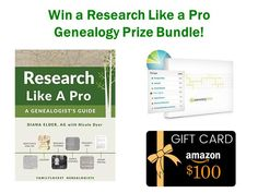 Research Like a Pro Genealogy Giveaway at Genealogy Bargains https://www.genealogybargains.com/giveaways/research-like-a-pro-genealogy-giveaway-at-genealogy-bargains/?lucky=28281