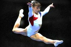 """When Dominique Moceanu was rising to fame as part of the """"Magnificent 7″ gymnasts who won team gold at the 1996 Olympic Games, she had no idea she had a secret ..."""