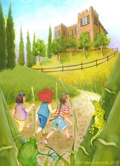 Michela Gastaldi, illustrazione per Da grande NON voglio fare la principessa, MdS Editore 2015