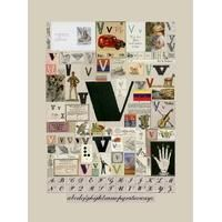 Alphabet : The letter V Peter Blake: Category: Art Currency: GBP Price: GBP2000.00 Retail Price: 2000.00 0