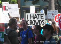 Funny Protest Sign Picture Photograph
