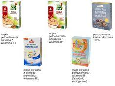 glutenowe, bezmleczne, bezsmakowe, kaszki do wprowadzania glutenu by .