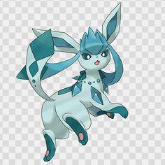 Pokemon mega evolution concept glacieon