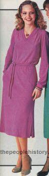 V-Neck Dress 1979
