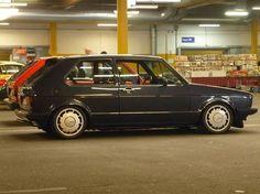 VW Golf MK1 - Pirelli Felgen