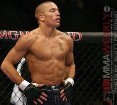 Georges St-Pierre. Current UFC Welterweight Champion.