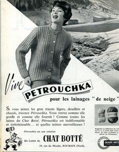 Cahiers du jardin des modes - tricots - n° 146 - juillet 1959 - Laines du Chat Botté