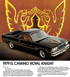 1979 EL CAMINO ROYAL KNIGHT