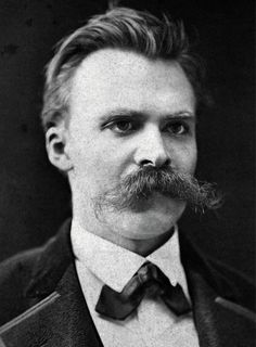 Friedrich Nietzsche: Are you looking for inspiration. Look no further than this, Nietzsche's iconic moustache will show you the light. Just look at that moustache. Awe inspiring is the word.