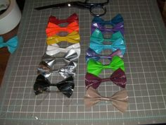 duck tape craft projects | Duct Tape Hair Bows by ~Cherry-Blossom12 on deviantART