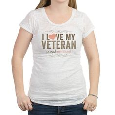 I love my Veteran Womens Burnout Tee on CafePress.com
