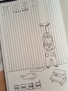 Easy Bullet Journal, So gestalten Sie das kreative Leben kreativ - Tricot Easy Bullet Journal, How to design creative life creatively Projects Bullet Journal Tracker, Bullet Journal Notebook, Bullet Journal Inspo, Bullet Journal Spread, Bullet Journal Layout, Bullet Journal Ideas Pages, Book Journal, Bullet Journals, Bullet Journal August