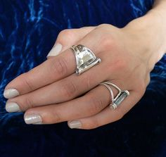 Modern and timeless look. Unfussy, yet feminine. Like it was unearthed in an archaeological dig, but feels so good and soft to wear. Unique every day classic ring that is all about the metal and subtle texture. This sculptural ring was designed with comfort in mind and has a