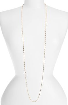 Nordstrom Square Link Long Necklace available at #Nordstrom