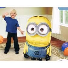 Giant Minion Air Walker foil balloons. Available in store at Star Fireworks