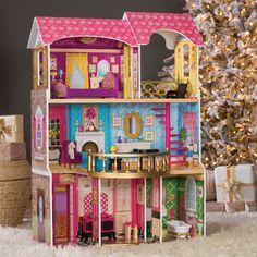 KidKraft Belmont Manor Dollhouse - Toy Dollhouses at Hayneedle