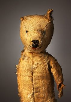 Photos of Very Old, Very Loved Teddy Bears [Flavorwire]  One Eyed Ted aka Aloysius 55+