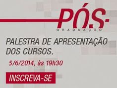 Inscreva-se na palestra de apresentação dos cursos de Pós-Graduação da ESPM - SP.