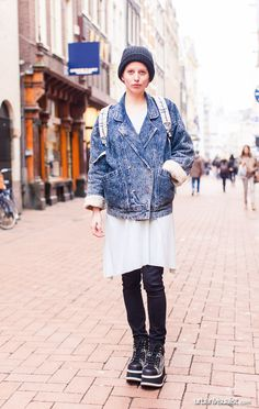 Lina in Amsterdam - [ Street Style ] #fashion #streetfashion #streetstyle #womenswear  See original post on www.urbanvisualist.com