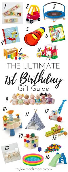 Your Ultimate 1st Birthday Gift