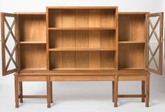 Rare Early English Walnut Bookcase by Gordon Russell 2