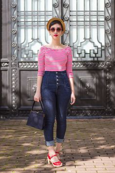 A beautiful outfit finished with beautiful Swedish Hasbeens clogs - get yours here http://www.soletrader.co.uk/swedish-hasbeens?utm_source=social&utm_medium=pinterest&utm_campaign=pintstreet
