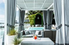 8 Posh Pool Scenes in Miami - Miami is all about the sex appeal, from the bronzed beautiful people to the sultry pool scenes. Here, the eight dips you must hit (if you can handle the heat).