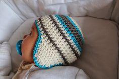vielwelt:+baby+häkelmütze+PELLE