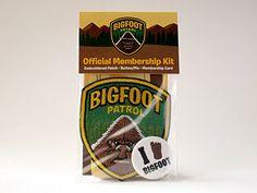 Bigfoot Patrol Membership Kit