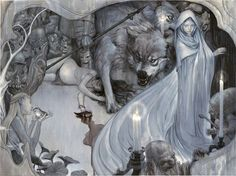 """James Jean also did amaaazing covers for the """"Fables"""" comics for a long time. They're all so elegant and mysterious."""