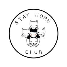 ....anything&everything from this amazing clothing line/general life plan. via: stayhomeclub.com