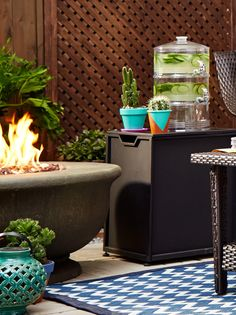 Warm up any party with a Fire Pit. Shop the CANVAS Patio Collection. Backyard, Patio, Canadian Tire, My Canvas, Outdoor Furniture, Outdoor Decor, Outdoor Living, Bliss, Fire