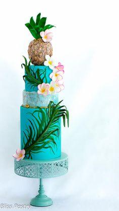 Hawaii cake