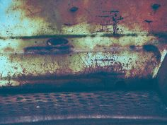 'Fading Over Time' by Lisa S. Baker #abstract #wallart #homedecor #rust