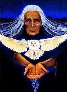 Grandmother Moon, Grandmother Dreaming Woman, Grandmother Owl Woman, and all Bird Tribe Elder Women are the oldest shamans of earth