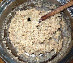 Recept: Ořechová masa do košíčků Oatmeal, Sugar, Cream, Cooking, Breakfast, Russian Recipes, Christmas, The Oatmeal, Creme Caramel