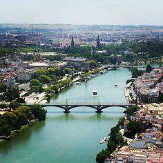 Sevilla desde la Torre Pelli.
