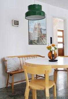 Kökssoffan, bordet, stolarna, golvet!