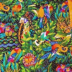 Laurel Burch Jungle Song