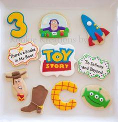 Toy Story cookies - Kookie Kreations by Kim